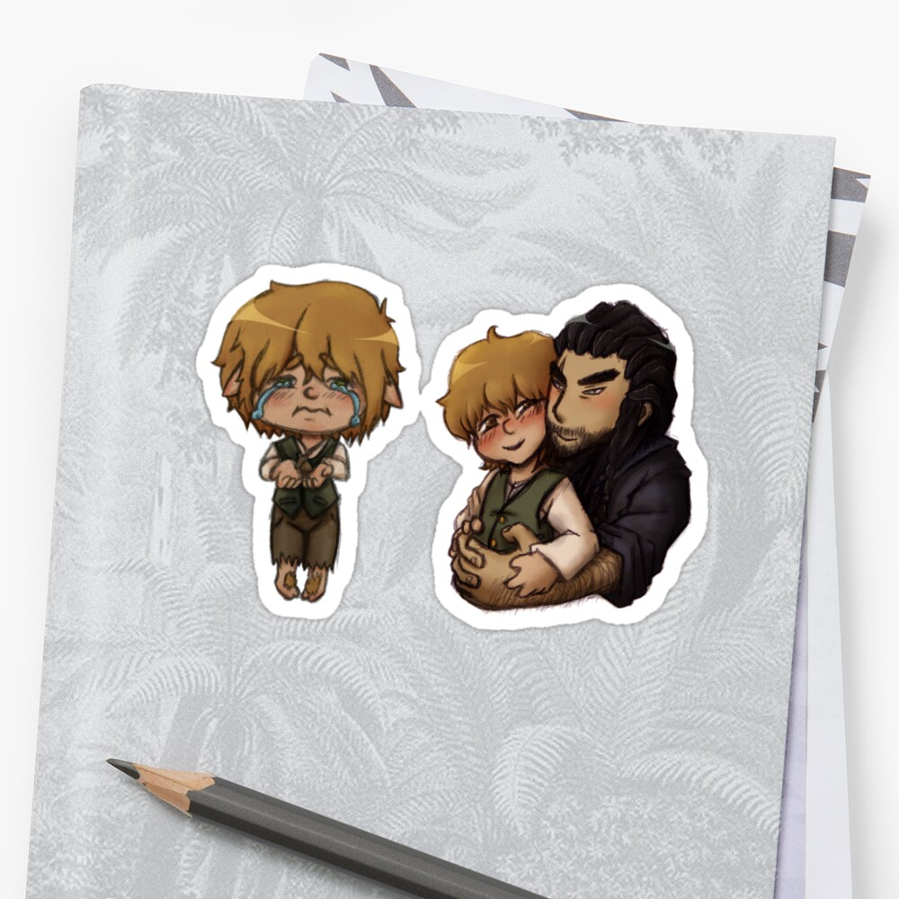 Bagginshield Combo Pack Stickers Sticker