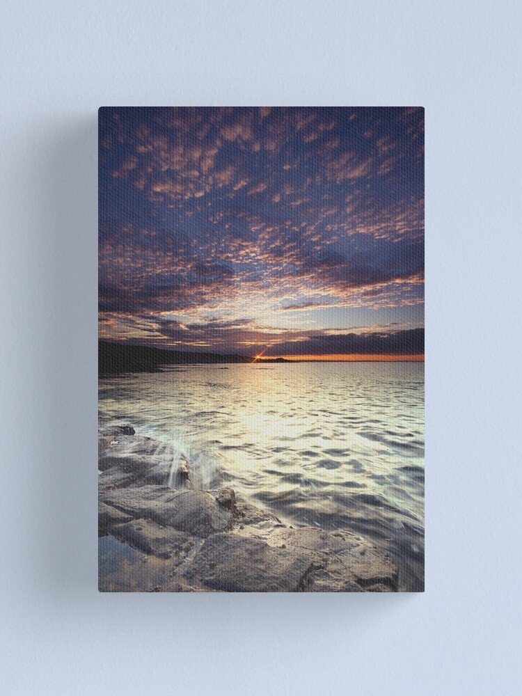 Alternate view of End of the day Canvas Print