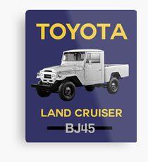 Toyota Land Cruiser BJ45 Metal Print