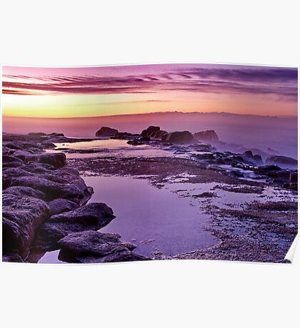 """Purple Morn"" Poster"