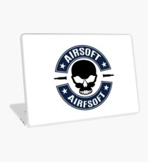 Airsoft with skull Laptop Skin