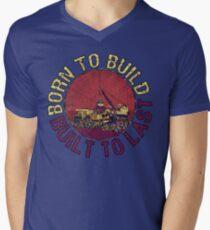 Born to Build  Men's V-Neck T-Shirt
