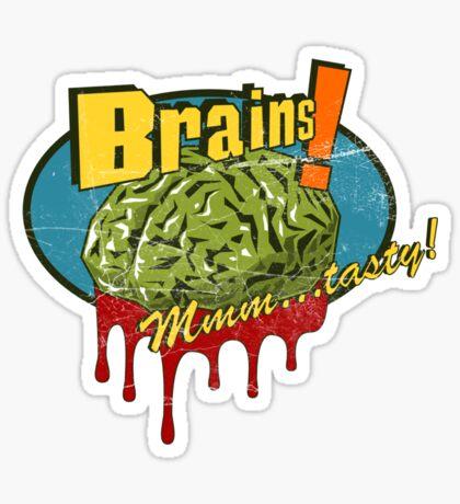 Brains. Sticker