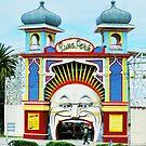 Luna Park, Melbourne by Alison Howson