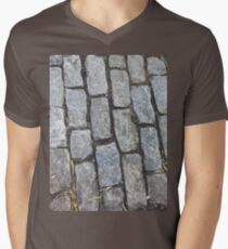 Granite Men's V-Neck T-Shirt