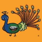 Peacock by Shukura