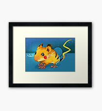 Electric Mouse Framed Print