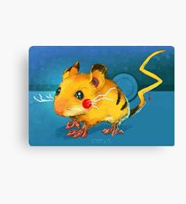 Electric Mouse Canvas Print