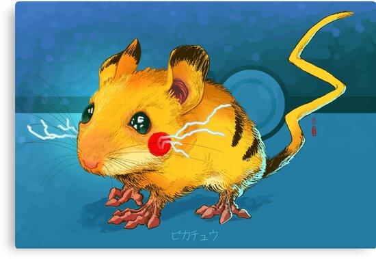 Electric Mouse by Jordan Lewerissa