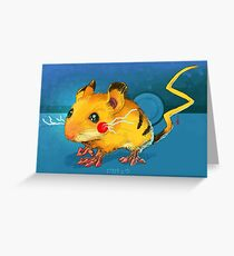 Electric Mouse Greeting Card