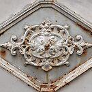 Door detail, Narbonne, France by Katherine Clarke