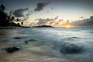 Cook Islands Sunrise by Michael Treloar