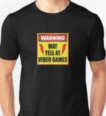 Gamer Warning Unisex T-Shirt