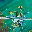 Frog Splash #2 by Kim Donald