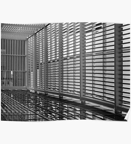 Caged In - CBD, Perth, Western Australia Poster