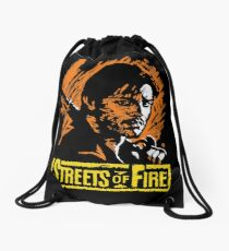 Nowhere Fast of Fire 1984 Drawstring Bag
