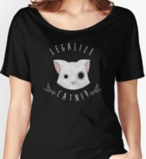 Legalize Catnip Women's Relaxed Fit T-Shirt