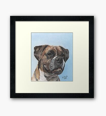 Tyson in Color Framed Print