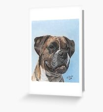 Tyson in Color Greeting Card