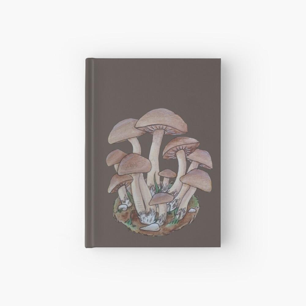 Racimo de setas Cuaderno de tapa dura