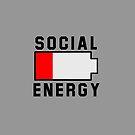 Niedrige soziale Energie von Rocket-To-Pluto