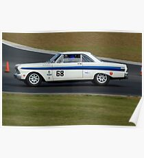 Ford Falcon (1964 White) Poster