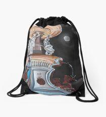Moonlit Bendigo Fountain Drawstring Bag