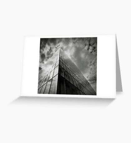 The building Greeting Card