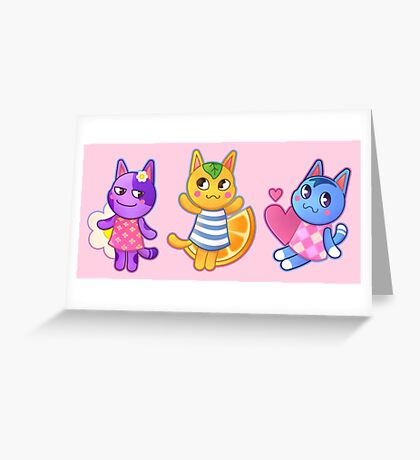 Rosie, Bob & Tangy  Greeting Card