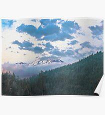 Mount Shasta - Shasta-Trinity National Forest Poster