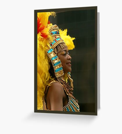 carnival queen Greeting Card