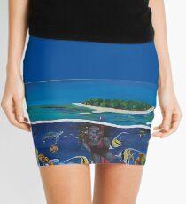 Great Barrier Reef Mini Skirt