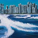 Boat View - Gold Coast by Kim Donald