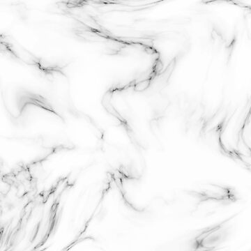 Marble Texture Pattern #6 - White and Black by iamnickv