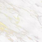Marble Texture Pattern #7 - White, Gold by iamnickv