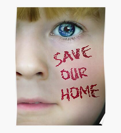 SAVE OUR HOME Poster