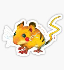 Electric Mouse Sticker