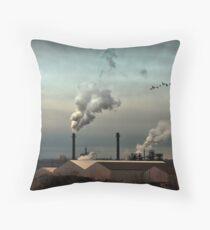 Air pur Throw Pillow