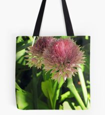 Wild Chives Tote Bag