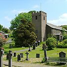 Colton Church, Lake District, Cumbria. by Roy  Massicks