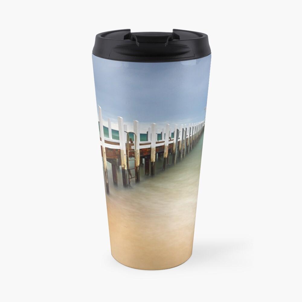 Safety Beach Jetty Travel Mug