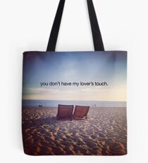 lover's touch Tote Bag