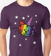 Rainbow Unicorn Cat Unikitty T Shirt T-Shirt