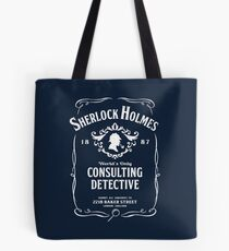 World's Only Consulting Detective Tote Bag