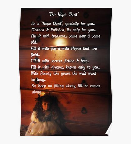 """""""The Hope Chest"""" Poster"""