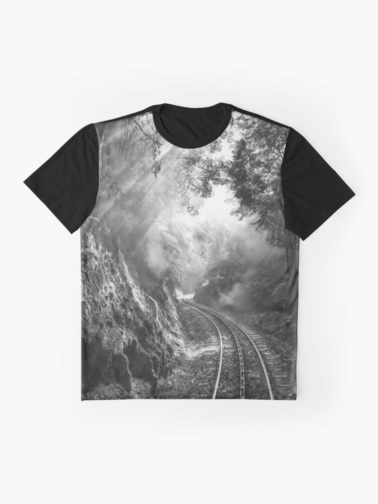 Alternate view of On track Graphic T-Shirt