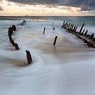 Sea foam by Mel Brackstone