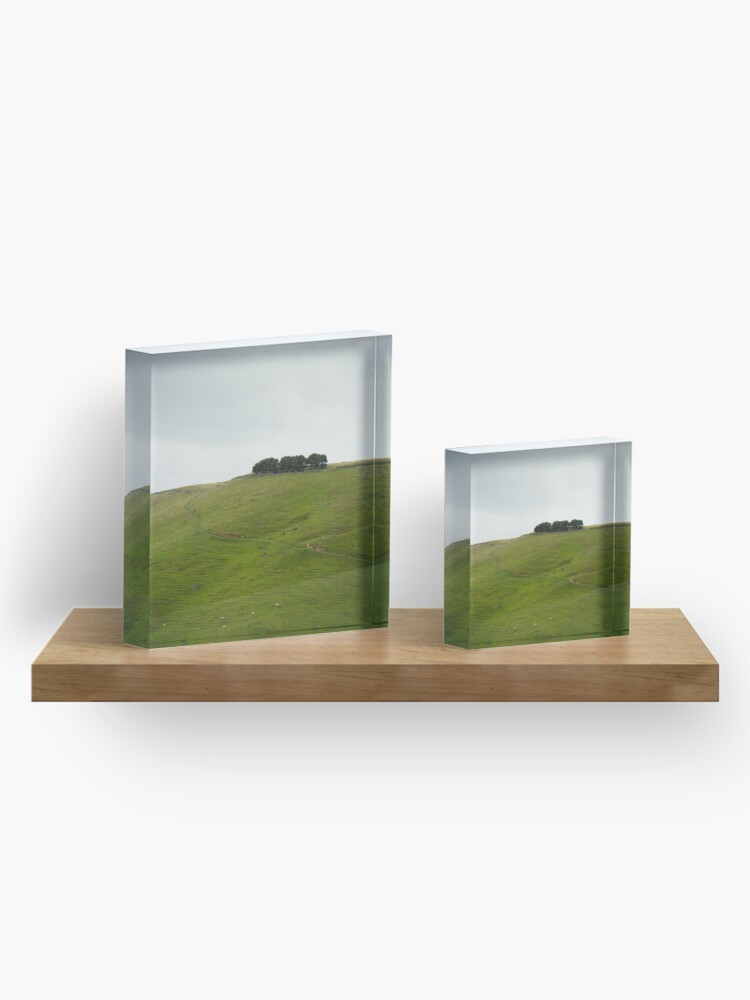 Alternate view of On the ridge Acrylic Block