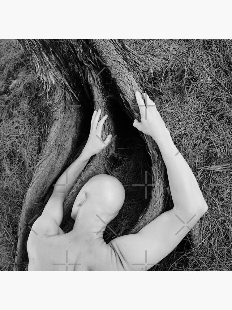 Man and tree by MelBrackstone