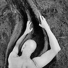 Man and tree by Mel Brackstone